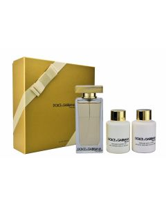 Dolce & Gabbana - The one 100ml eau de toilette + 100ml showergel + 100ml bodylotion Eau de toilette - Giftset