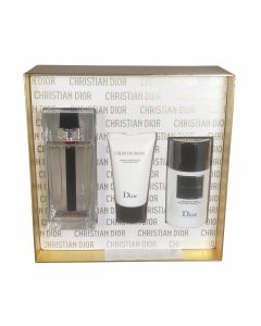 Dior - Homme sport 125ml eau de toilette + 50ml aftershave balm + 75ml deostick Eau de toilette - Giftset
