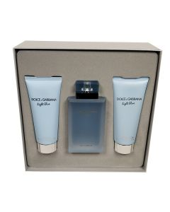 Dolce & Gabbana - Light Blue Eau Intense 100ml eau de parfum + 100ml showergel + 100ml bodylotion Eau de parfum - Giftset
