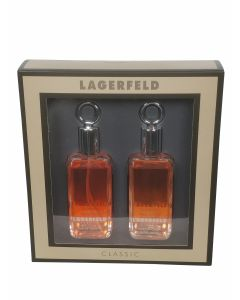 Lagerfeld - Classic 60ml eau de toilette + 60ml aftershave Eau de toilette - Giftset