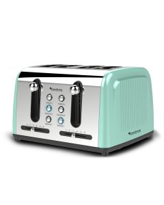TurboTronic Electric Toaster 4-Slice